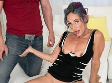 Sadie's first-ever porn video: She acquires ass-fucked!